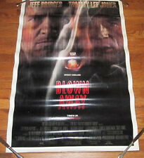 MGM Pictures 2 Sided Movie Poster Home Decor Man Cave Blown Away Tommy Lee Jones