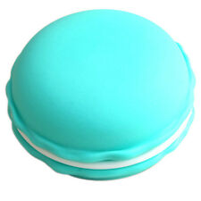 1pc Earphone SD Card Macarons Bag Big Storage Box Case Carrying Pouch Blue Y5