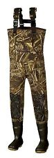 New Men 3mm MAX-5 Camo Fishing/Hunting Neoprene Wader Lug Boots Size 10 Stout