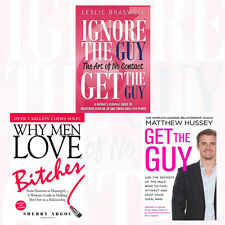 Why Men Love Bitches 3 Books Collection Set (Get the Guy,Ignore the Guy)New Pack