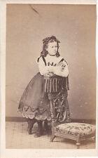 Photo cdv : Mayer et Pierson , Geneviève des Roberts en pose  , vers 1863