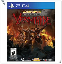 PS4 Warhammer: End Times - Vermintide SONY PLAYSTATION Shooting Games Fatshark