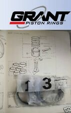 TRIUMPH 2000 Vitesse GT6 Mk1 Mk2 PISTON RINGS SET Std