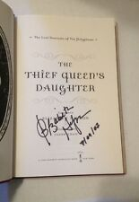 SIGNED & Dated The Thief Queen's Daughter By Elizabeth Haydon HC 1/1 +PIC