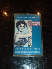 CONNIE FRANCIS - Among my Souvenirs - 1989 UK 20-track Cassette