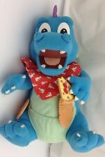 Dragon Tales Hungry Hiccupping Ord 1999 Talking Plush Playskool Pizza Cookie