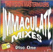 Cd vision mastermixers immaculate mixes disco party 80s 90s michael jackson song