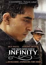 The Man Who Knew Infinity (DVD, 2016)