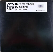 """LP 12"""" 30cms: Dj Spinna: here to there, the beat generation D2"""