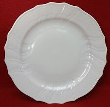 HUTSCHENREUTHER china DRESDEN pattern DINNER PLATE 10 - all white