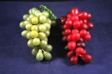 Artificial Fruit Mixed Lot 2 Pieces Grapes
