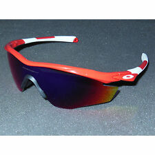 New/2nd* Oakley M2 Frame Sunglasses Redline/Positive Red Iridium Cycling Sport