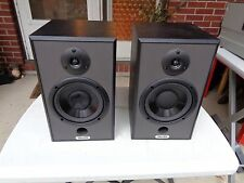 Pair (Two) Tannoy Proto-J Studio Monitor Passive Speakers