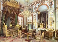 Alte Postkarte - Fontainebleau - La Chambre à coucher de l'Empereur