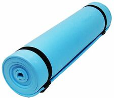 CAMPING MAT TENT SLEEPING MATTRESS EXERCISE YOGA FESTIVAL FITNESS ROLL UP FOAM