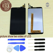 For Alcatel One Touch Idol 2S 6050Y 6050A complete LCD display Touch Screen Tool