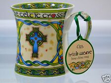 The Celtic Cross Cup Clara Irish Weave Royal Tara Company Bone China Mug NWT