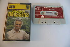GEORGES BRASSENS K7 AUDIO TAPE.SUPPLIQUE POUR ETRE ENTERRE A LA PLAGE DE SETE.