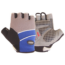 Cycling Gloves MX BMX Bicycle Mountain Bike Half Finger Sports Cycle Mitts Med