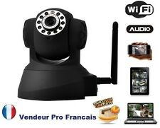 Caméra IP Réseau WIFI Infrarouge Mobile Iphone Ipad Android Mac Tablette Sumsung