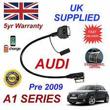 For AUDI A1 iPhone 3gs 4 4s iPod AMI MMI Audio Cable 4F0051510C Pre 2009