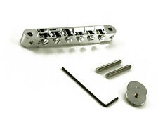 NEW Tone Pros AVR2-C LOCKING BRIDGE for Gibson Les Paul ABR-1 Tuneomatic Chrome