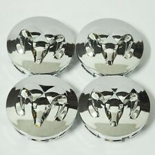 4x63mm Dodge Chrome wheel Center Cap Hub Cover caps Durango RAM1500 Dakota 2.5''