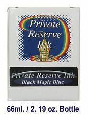 Black Magic Blue Private Reserve Ink 66 ml. / 2.19 oz. Bottle