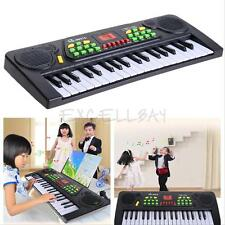 37 Keys Electronic Music Keyboard Piano Organ Electric Toy+Mic Adapter for Kids