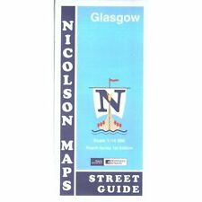 Glasgow Street Guide M. V. Nicolson Maps Sheet map, folded 9781860973468