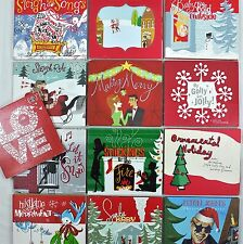 Starbucks 17 Christmas CD Lot Elton Ornamental Mistletoe Stockings 1999-2012