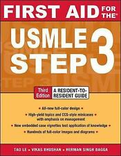 First Aid USMLE Ser.: USMLE, Step 3 by Vikas Bhushan, Veronique Tache, Robert...