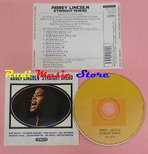 CD ABBEY LINCOLN Straight ahead 1990 CANDID CCD 79015(Xs6) lp mc dvd vhs