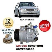 PER MERCEDES E-CLASS W211 2002-2008 NEW AIR CONDIZIONATORE COMPRESSORE DEL