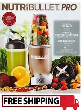 NutriBullet Pro 900 Hi-Speed Blender /Mixer Nutrition Exactor, 9PCS - NEW IN BOX