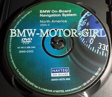 BMW On-Board Navigation System DVD Disc North America 2005.2