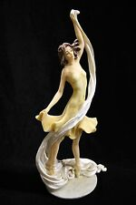 Ballerina Ballet Dancer Dance Girl Women Italian Statue Sculpture Figurine Italy