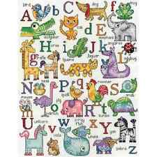 NEW!! Design Works Crafts ABC ANIMALS Counted Cross Stitch Kit ALPHABET
