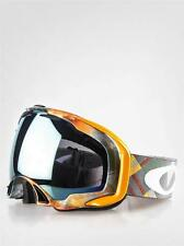 New Oakley Splice Snow Goggle Eero Ettala Urban Camper/Emerald Iridium $180