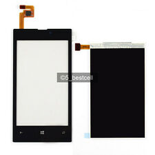 New  Black  Nokia Lumia 520 Touch Screen+LCD Display