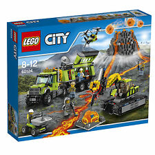 LEGO® City 60124 Vulkan-Forscherstation NEU OVP_ Volcano Exploration Base NEW