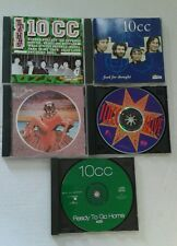 10cc DECEPTIVE BENDS the hits FOOD FOR THOUGHT alive READY TO GO HOME 5 CD's