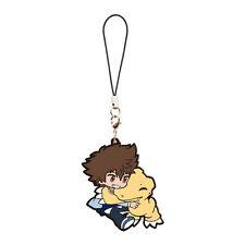 Digimon Adventure tri Vol.1 Mascot PVC Keychain Charm ~ Taichi & Agumon @10952