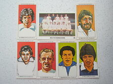 8 BOLTON WANDERERS  FOOTBALL CARDS