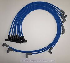 CHEVY CORVETTE 1985-1991 5.7L 350 TPI BLUE  HI-PERFORMANCE Spark Plug Wires USA