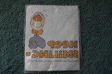 Vintage T-Shirt Iron-Ons Keep Smiling Iron On Fabric Trasfer Caprice