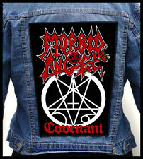 MORBID ANGEL --- Giant Backpatch Back Patch / Immolation Deicide Vader Nocturnus