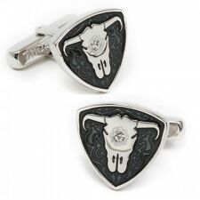 Black Matador Bull CUFFLINKS by Thompson-New in Gift Box-40% off!