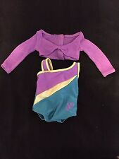 New! American Girl McKenna's Leotard and Sweater from Practice Wardrobe-RETIRED!