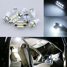 Premium 6K White Interior LED Light Package Bulb For Honda Civic Sedan Coupe